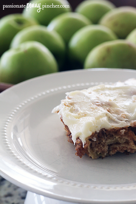 This Southern Living chunky apple cake comes together into a heavenly smelling dessert!