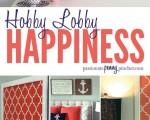 Hobby Lobby Happiness