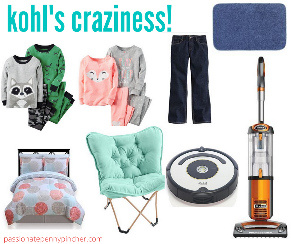 b37e3d3a8d6eb Kohl's Craziness | The Big One Bath Towels & Rugs, Carter's PJ's ...