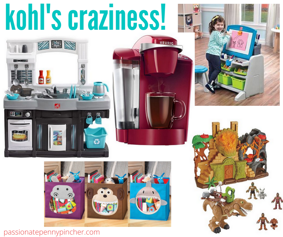 Kohl S Craziness Keurig Imaginext Dino Set Dollhouse Step2