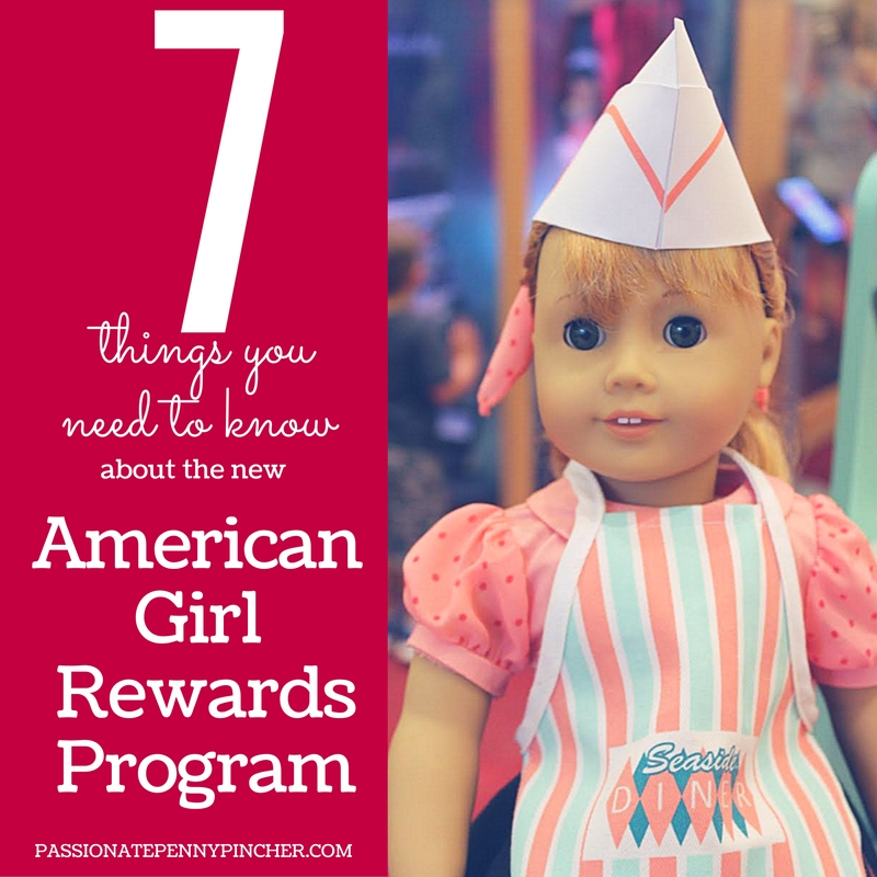 secrets to thenew American Girl Rewards Program!
