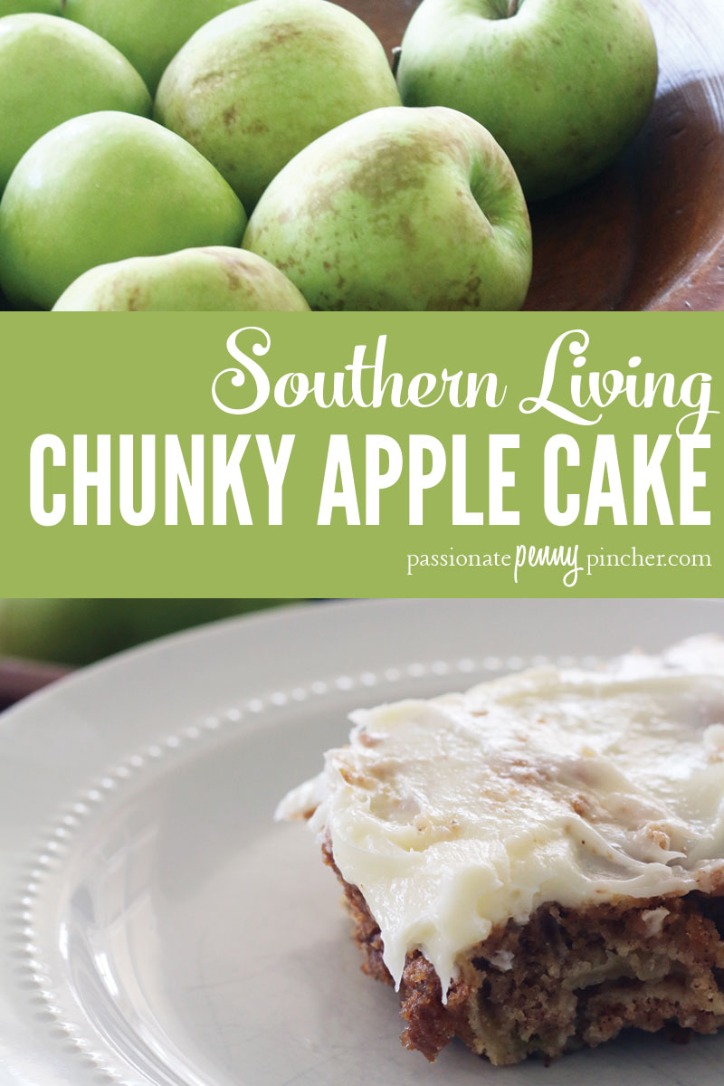 Chunky Apple Cake Recipe Southern Living