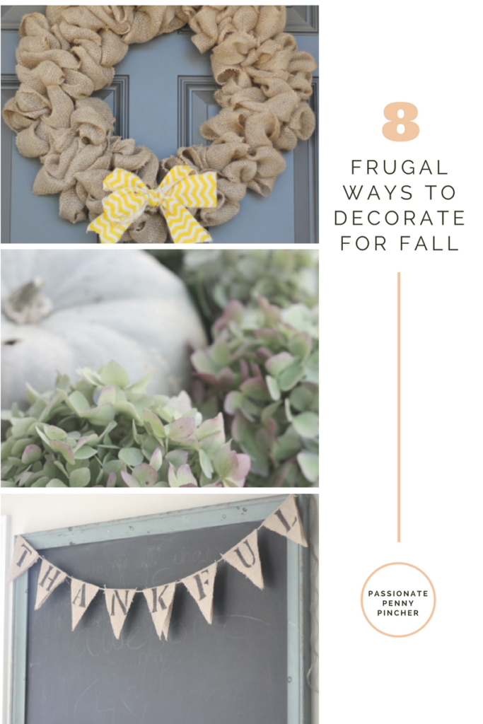8 Frugal Ways To Decorate For Fall