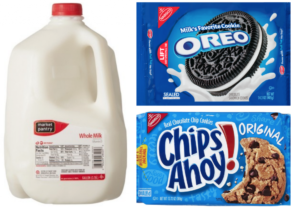 Target: Oreo and Chips Ahoy Cookies $2.61 + Free Gallon ...