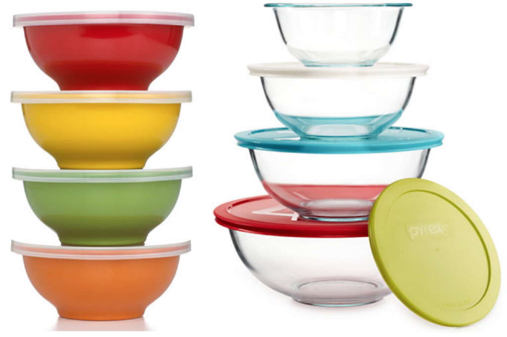 6 Piece Martha Stewart Melamine Mixing Bowls Set 14 99