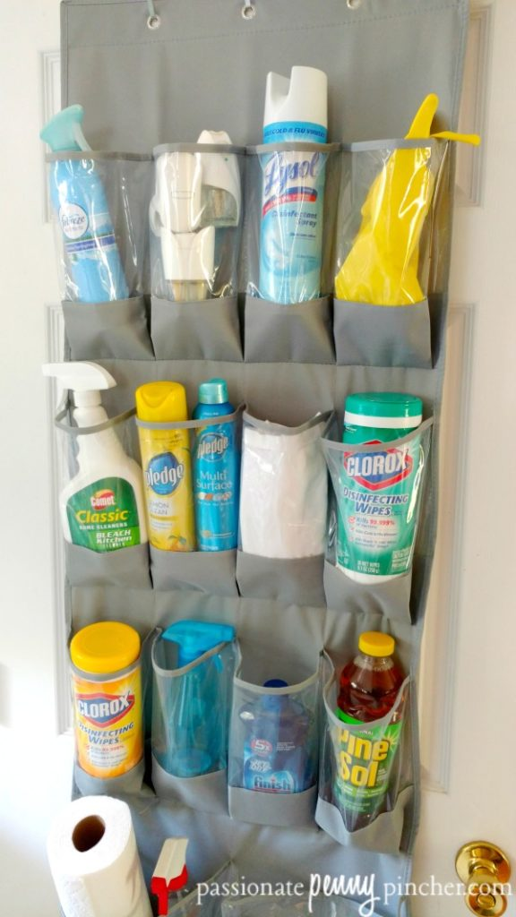 cleaning-supplies-organizer