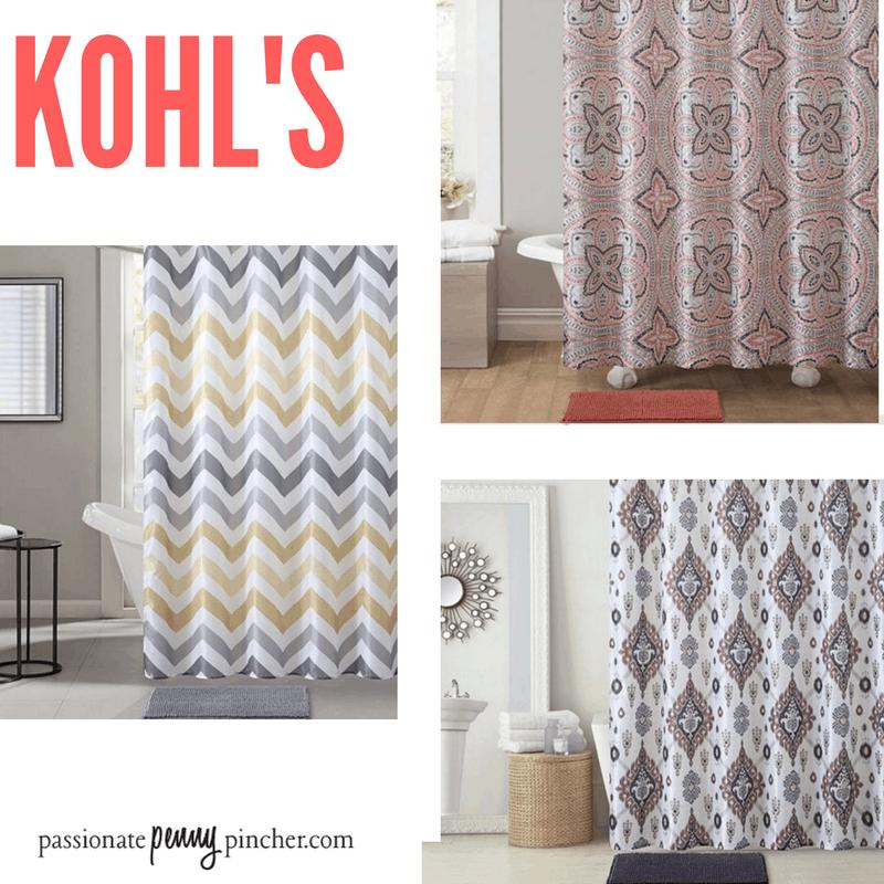 Kohls Christmas Shower Curtain.Kohl S Shower Curtain Rug Super Sets Only 21 39