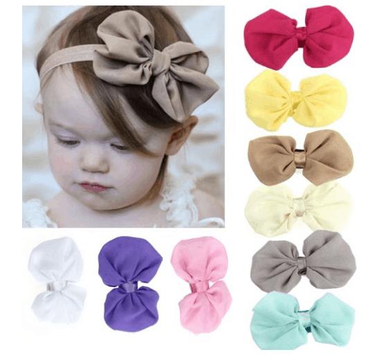babys-girls-elastic-headband-bows