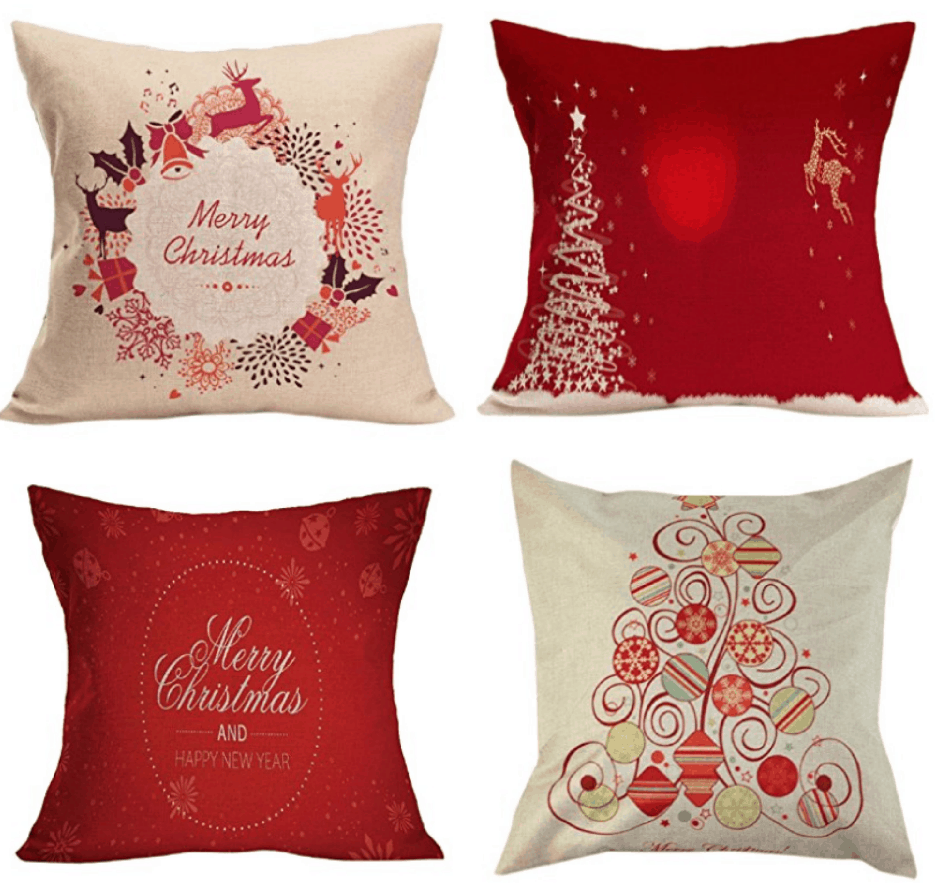 christmas throw pillow covers - Christmas Decorative Pillow Covers