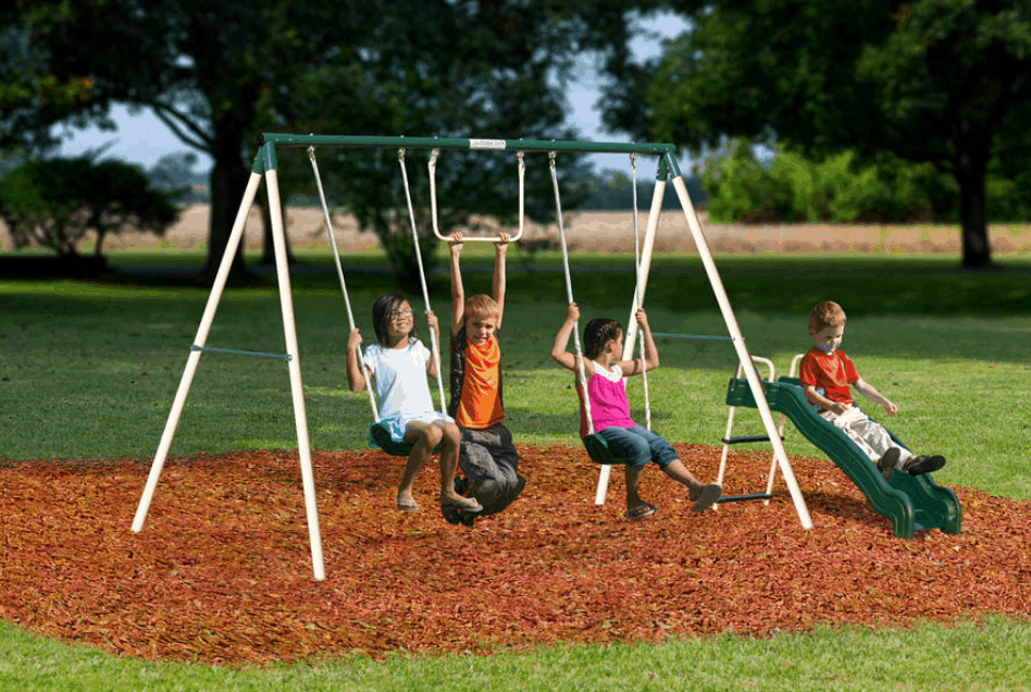 flexible-flyer-outside-fun-swing-set