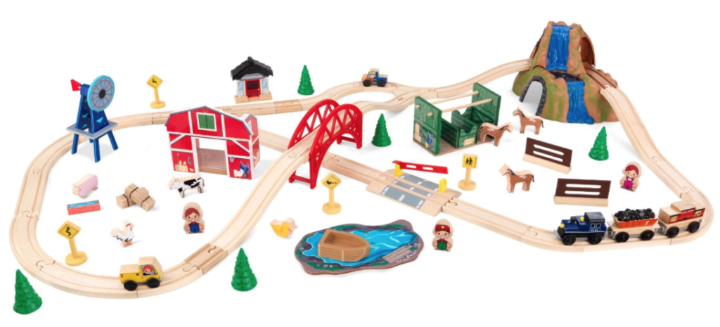 kidkraft-farm-train-set