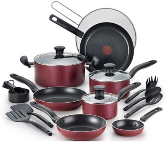 t-fal-reserve-20-piece-nonstick-aluminum-cookware-set