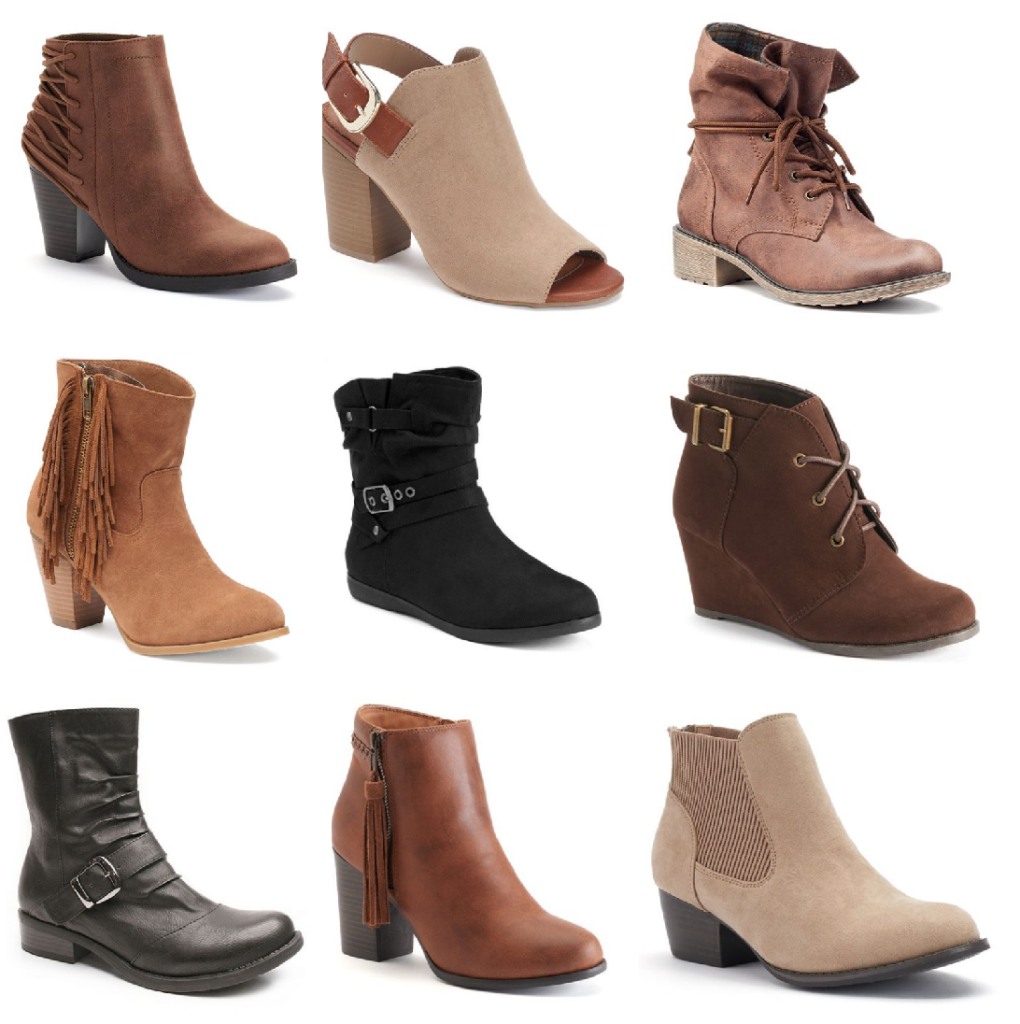 c1f274cc1b44 Woman s Boots Buy One Get Two Free at JCPenney ( 20 per Pair!)