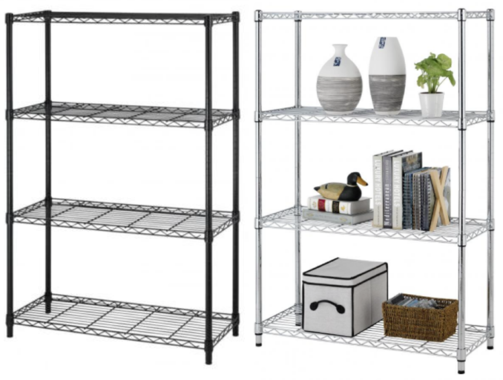 adjustable-4-shelf-steel-shelving-rack
