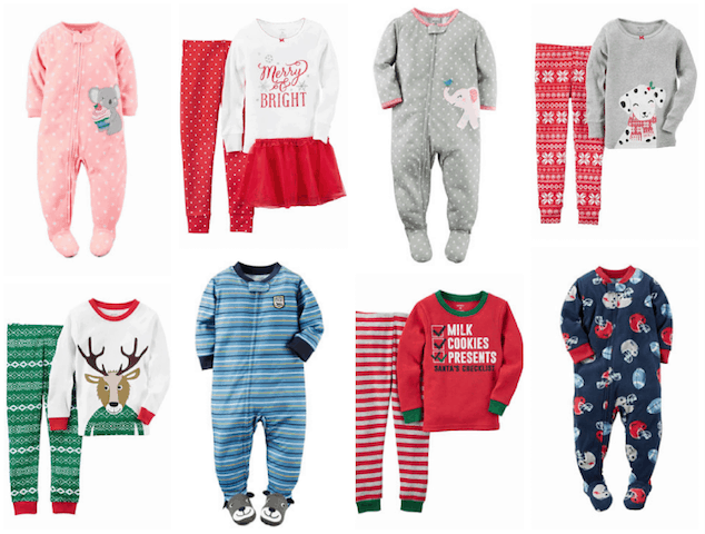 carters sleepers or footed pajamas