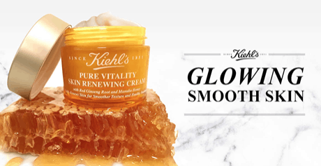 Head over here to get a free sample of kiehl s pure vitality skin