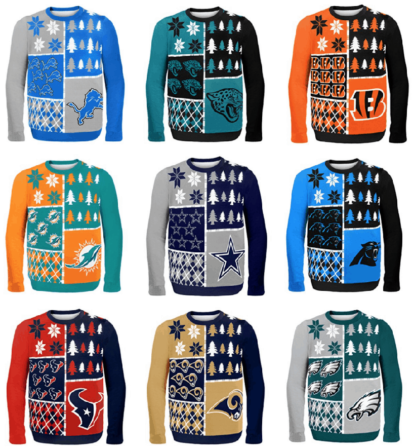 Nfl Ugly Sweaters As Low As 10 Passionate Penny Pincher