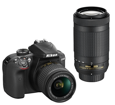 nikon-d3400-digital-slr-camera-with-additional-lens