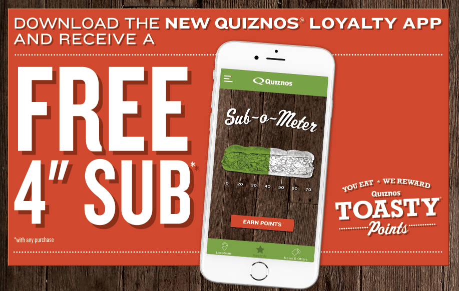 quiznos-toasty-points-app