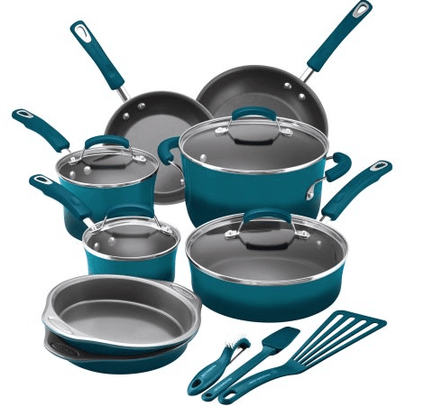 rachael-ray-15-piece-hard-enamel-nonstick-cookware-set