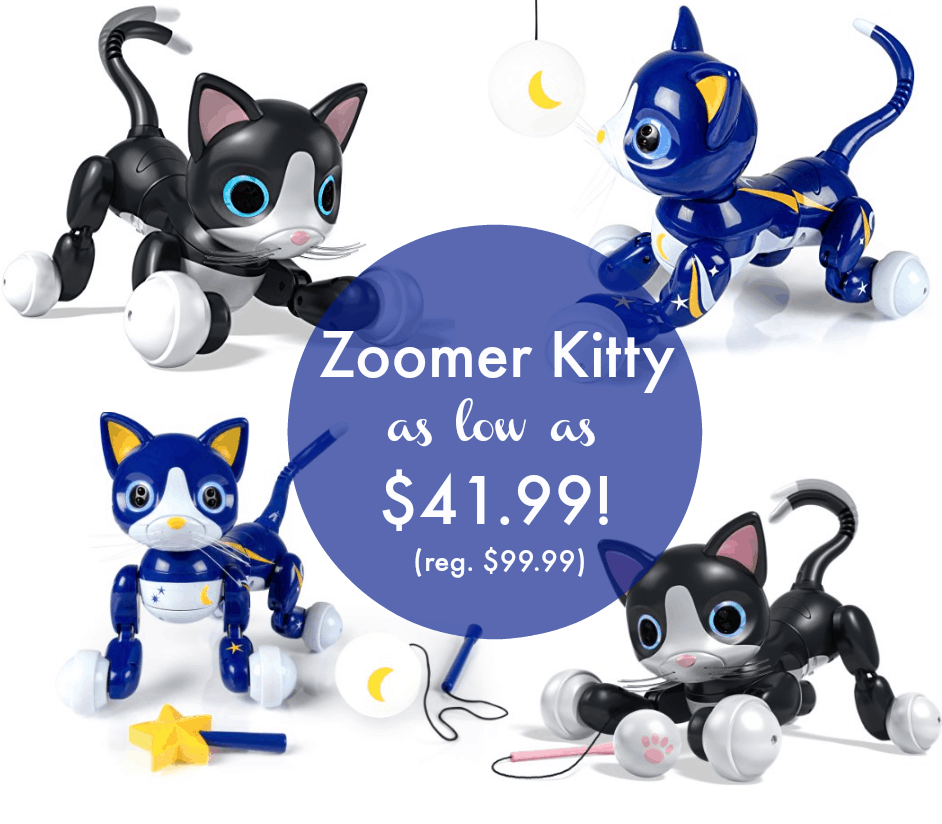 Black Friday Deal 23 Zoomer Kitty 41 99 Regularly 99