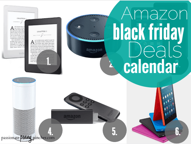 Amazon black friday deals schedule