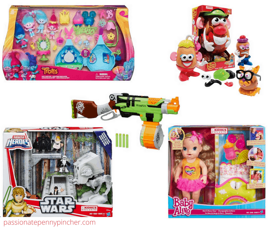 6b22b614b15 Here are more great offers going on this week at Kohl's! In addition to the  codes I shared earlier, you can save an additional 20% off any Hasbro toy  with ...