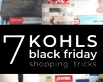 9 Ways to WIN the Kohl's Black Friday Ad This Year....