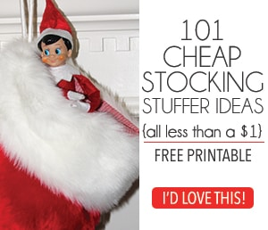 101 Cheap Stocking Stuffer Ideas Free Printable