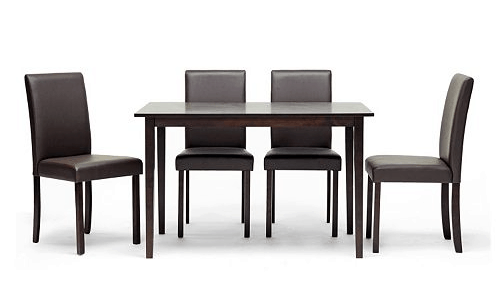 baxton-studio-susan-dining-table-chair-5-piece-set
