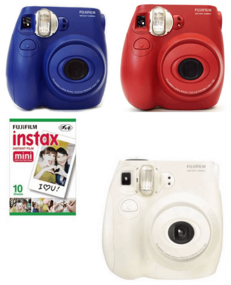 christmas deal of the day 3 fujifilm instax mini 7s instant camera passionate penny. Black Bedroom Furniture Sets. Home Design Ideas