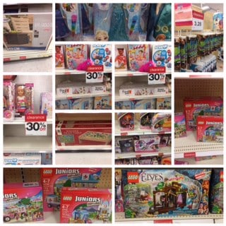 target has a ton and i mean a ton of clearance going on they had legos and oodles of toyson every aisle clearanced 30 50 off and more - Cvs Christmas Clearance