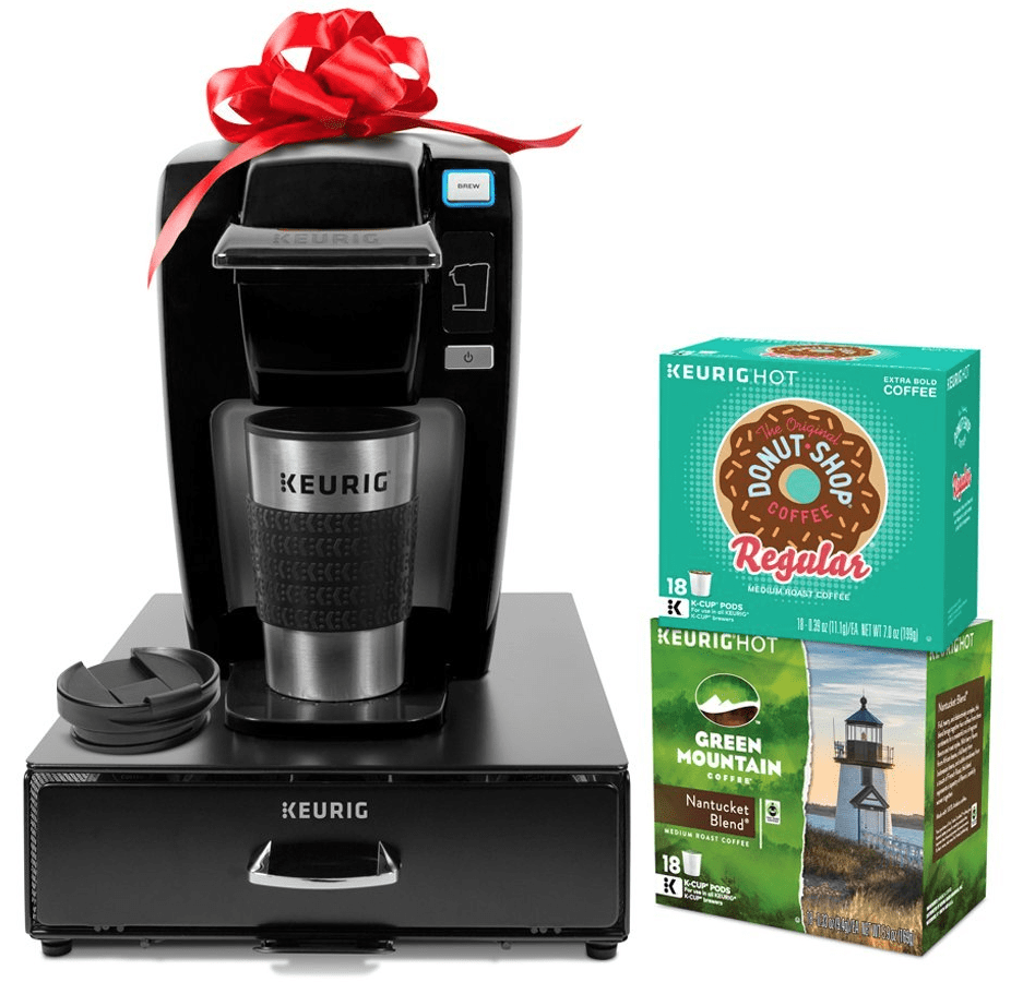Keurig Coffee Maker Single Cup : Keurig Single Serve Coffee Maker Bundle (with K-Cups, Travel Mug, and Storage Drawer) USD 79.99 ...