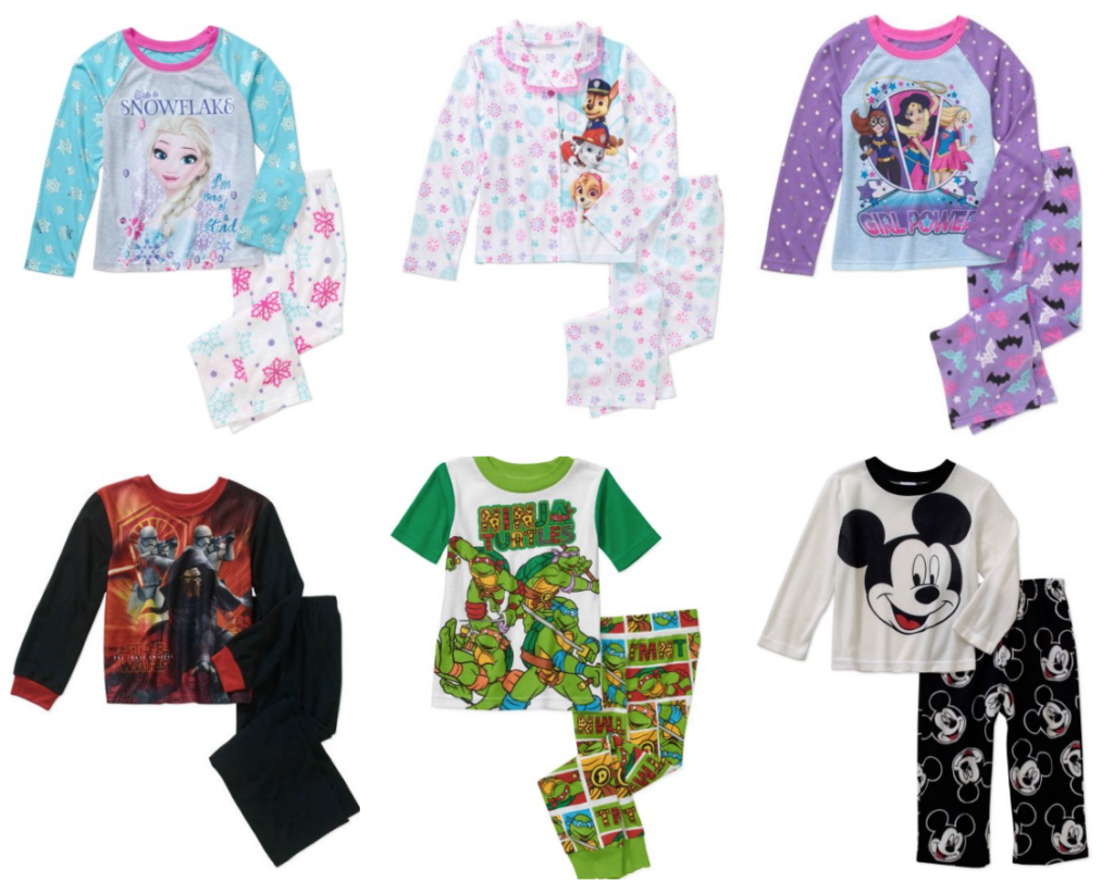 kids-character-pajama-sets