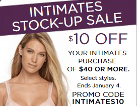 46848e384bdf Kohl's | $10 OFF $40 Women's Intimates (Bras only $11 - reg $42!)