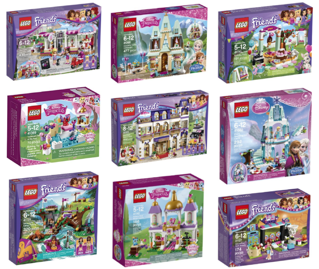 Lego Friends Christmas Sets.Christmas Deal Of The Day 3 Lego Friends Disney Princess