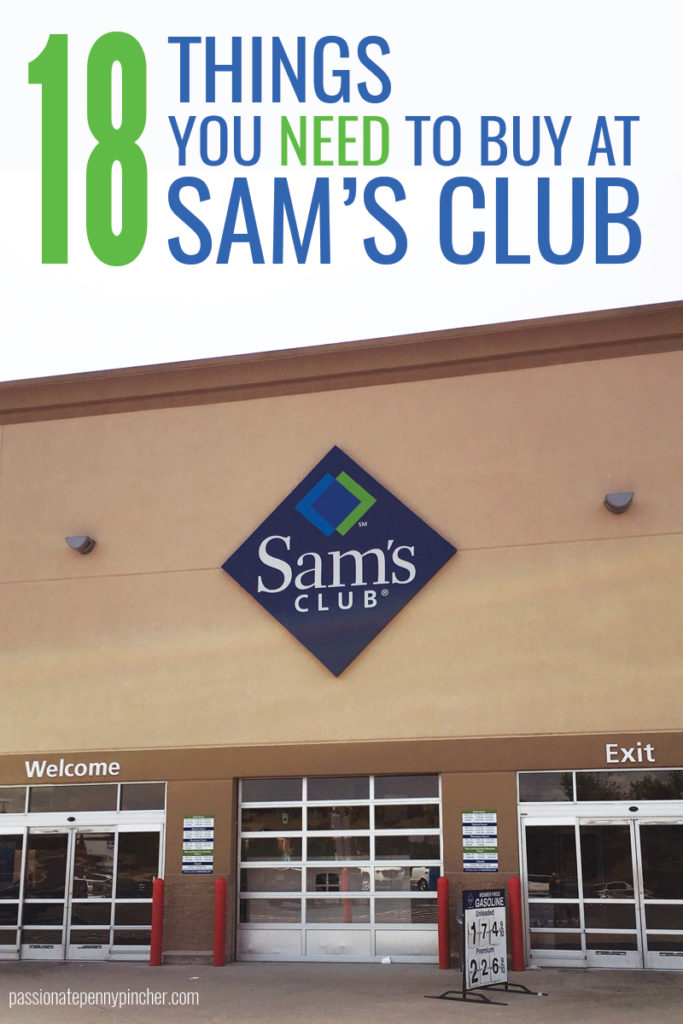 What Time Does Sams Club Open On Sunday >> What Should You Buy At Sams Club Passionate Penny Pincher