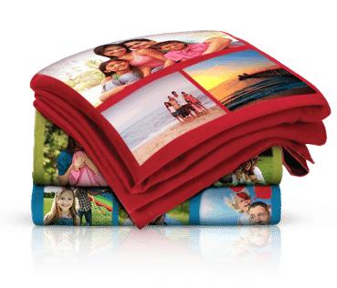 Collage Fleece Blanket