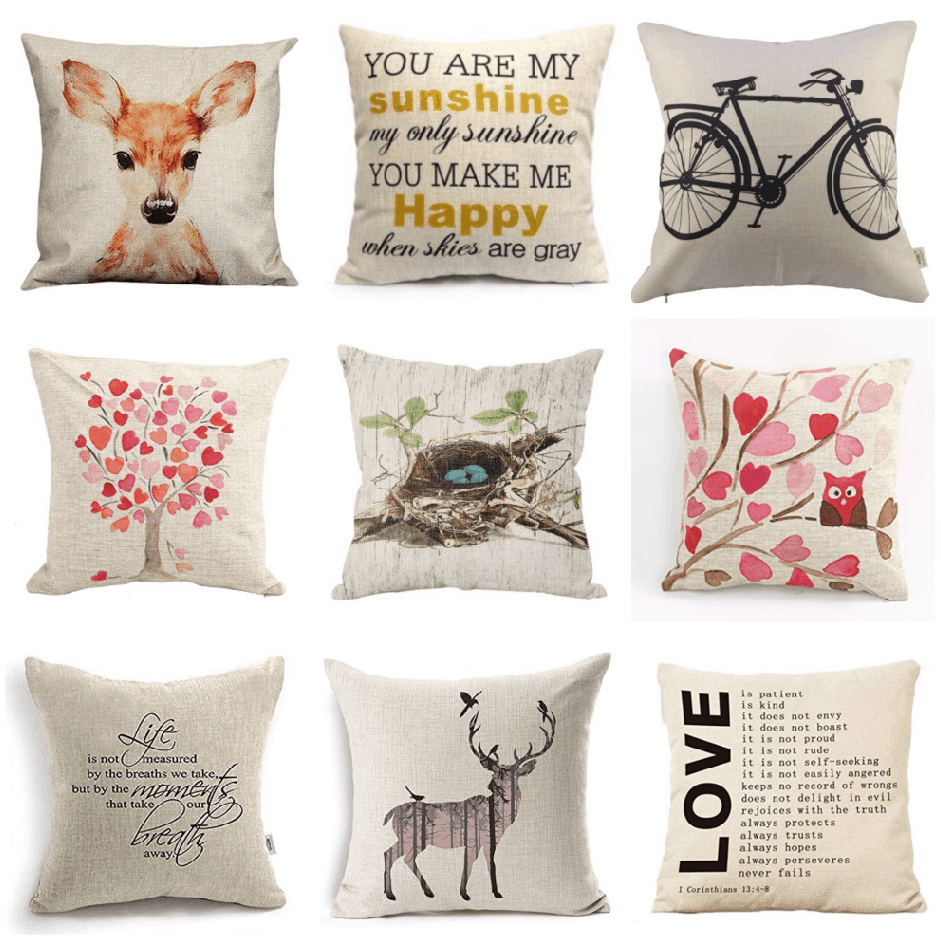 Throw Pillows With Covers : Decorative Pillow Covers as low as $2.25! Passionate Penny Pincher