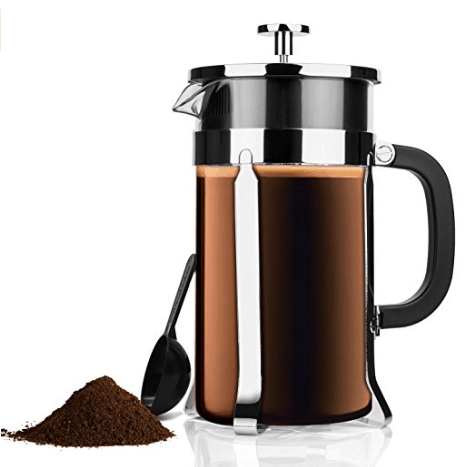 French Press Coffee Maker USD 15.99 (Regularly USD 49.99) Passionate Penny Pincher