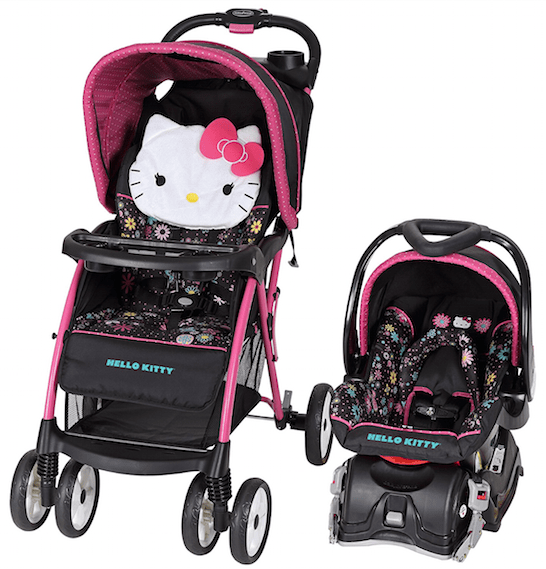 hello kitty baby stroller and carseat the image kid has it. Black Bedroom Furniture Sets. Home Design Ideas