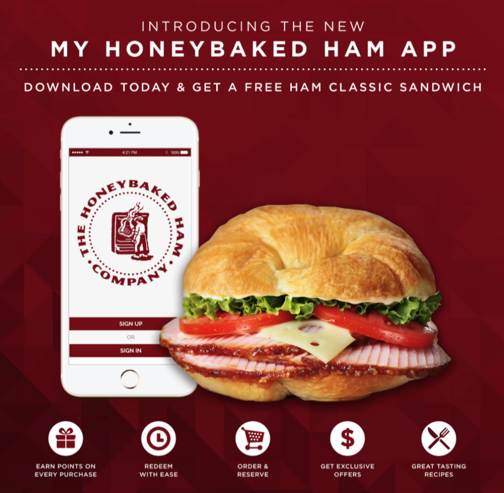 Honeybaked Ham Coupons 2020 Printable.Free Honey Baked Ham Sandwich With App Download
