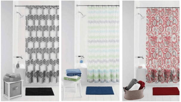 Right Now Walmart Has Select Mainstays Bath Sets Marked Down To 5 Regularly 12 These Include A Shower Curtain Rings And Rug