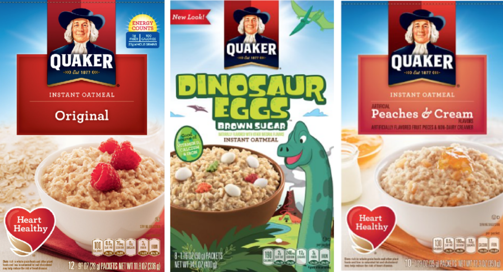 image about Quaker Printable Coupons identify Quaker fast oatmeal discount coupons printable : Lenscrafters