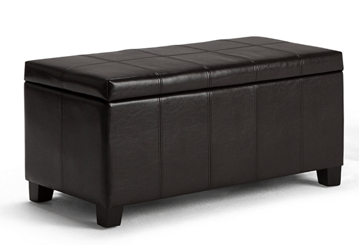 Rectangular Storage Ottoman Bench 2667 Passionate Penny Pincher
