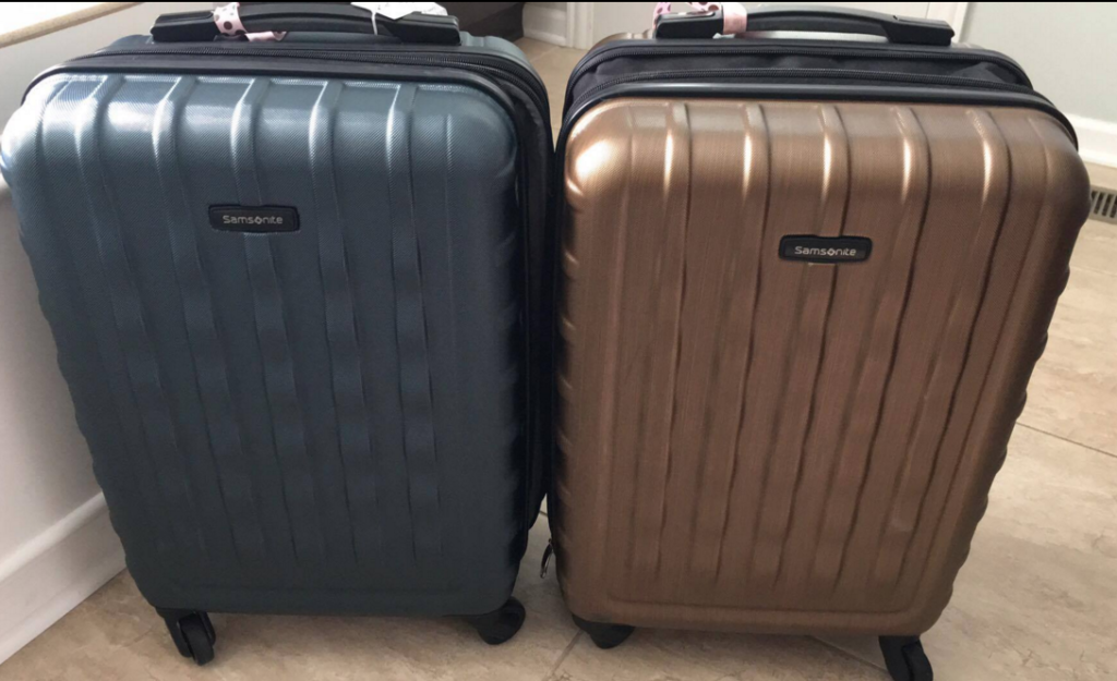 58417102d1 Right now over at Kohl s you can pick up a set of Samsonite hardside  spinner luggage for about