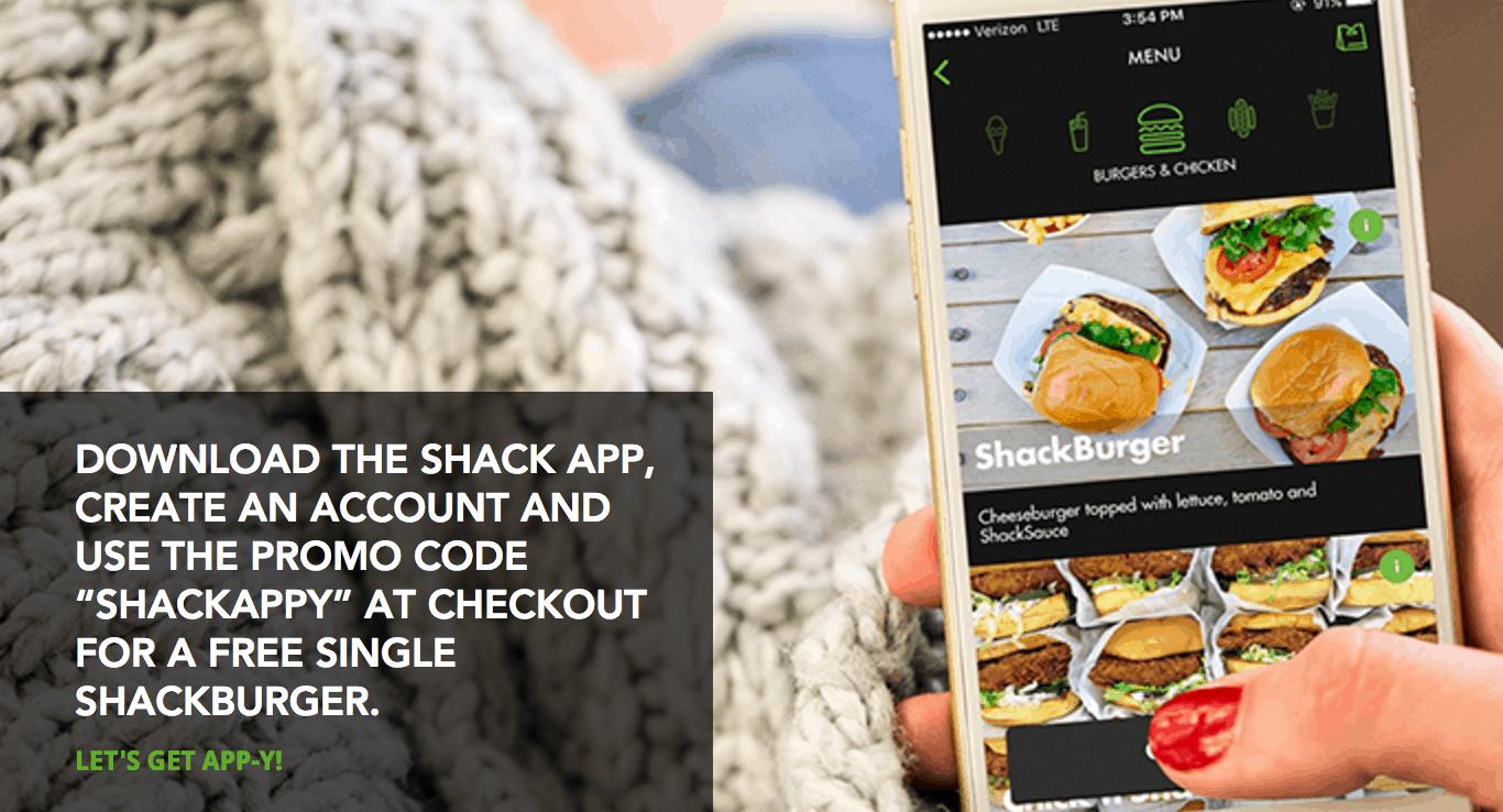 image regarding Shake Shack Printable Coupons titled Totally free Burger at Shake Shack