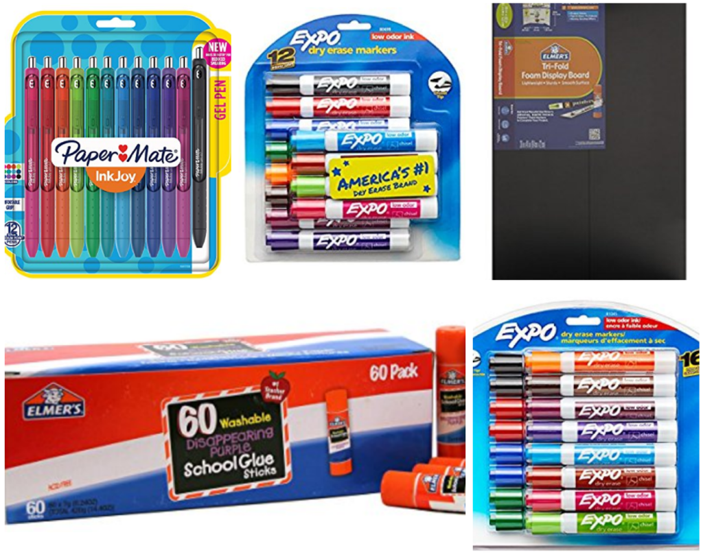 Tips for buying essential school supplies. Whether the back-to-school season is near or you re looking to complete your little one s supplies during the year, the wide selection of school supplies at Every Day Low Prices from Walmart makes it easy to find the items you need without the high price tag.
