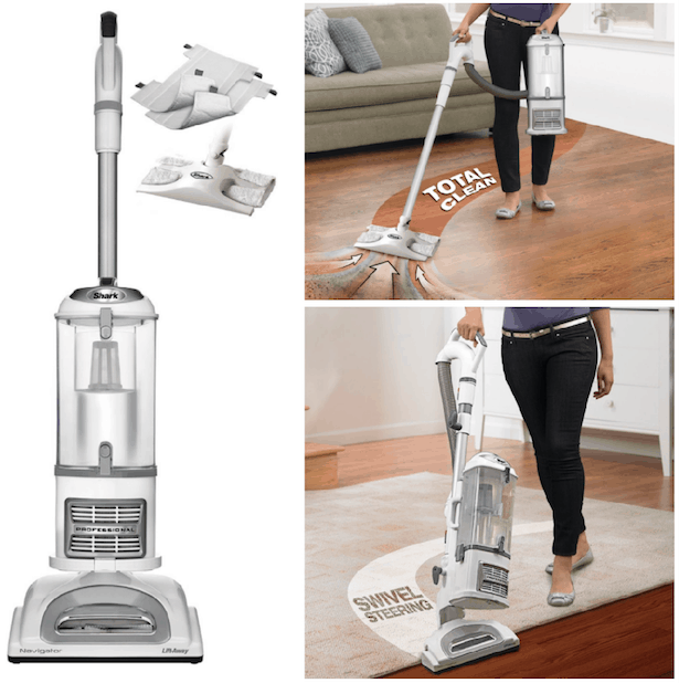Shark Navigator Lift Away Professional Vacuum With Dust