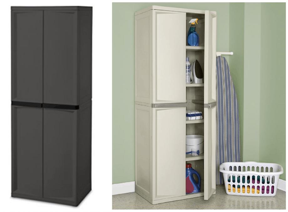 sterilite 4 shelf cabinet Sterilite 4 Shelf Cabi$69.86 | Passionate Penny Pincher sterilite 4 shelf cabinet
